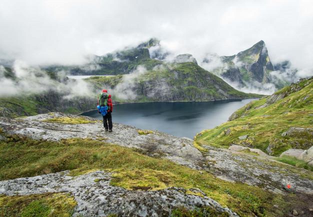 wandelen fjorden autoreis noorwegen